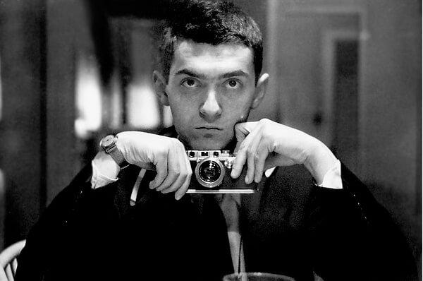 Kubrick juif avec sa camera de cinema