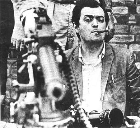 le juif du cinema Kubrick fumant un cigar