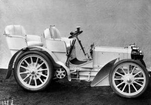 Toute première Mercedes