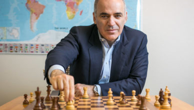 Photo de Kasparov