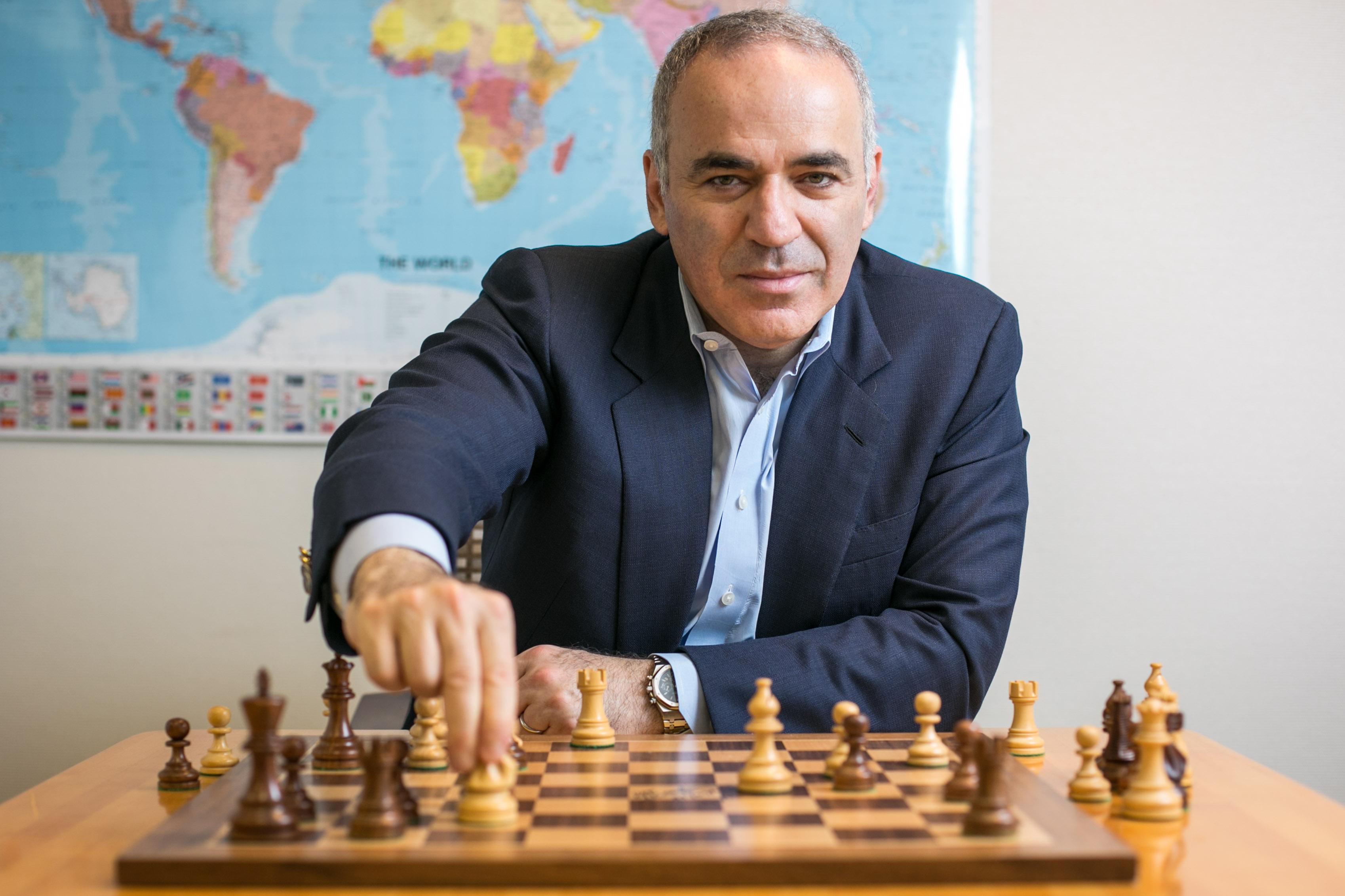 Photo de Kasparov