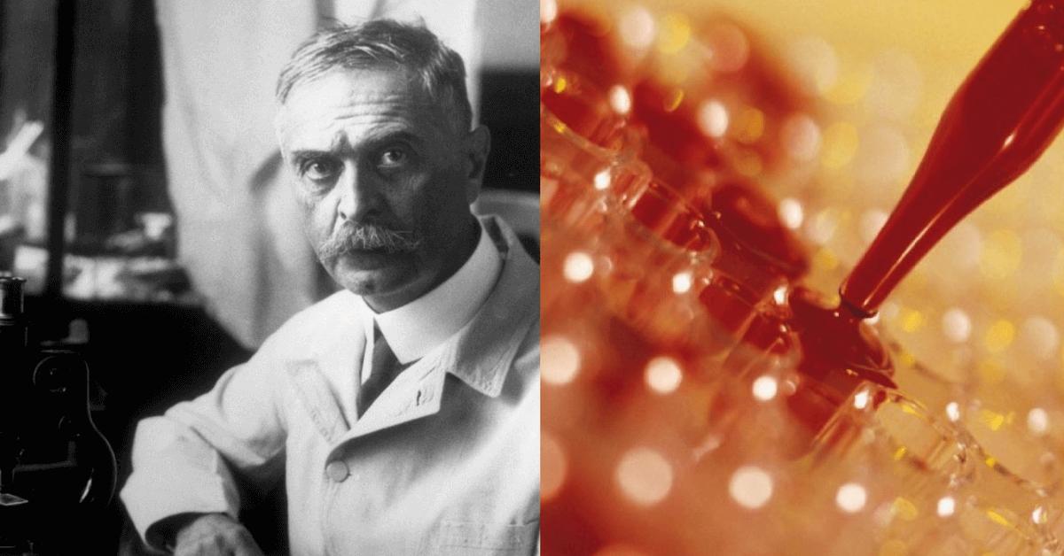 Photo de Karl Landsteiner qui a découvert les groupes sanguins