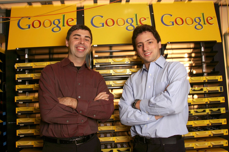 2 fondateurs de Google